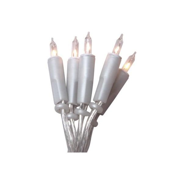 Lampki   choinkowe Best Season Lightchain White Transparent, 20 światełek