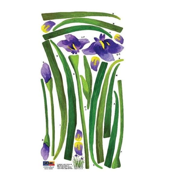 Naklejka Iris Purple, 33x60 cm