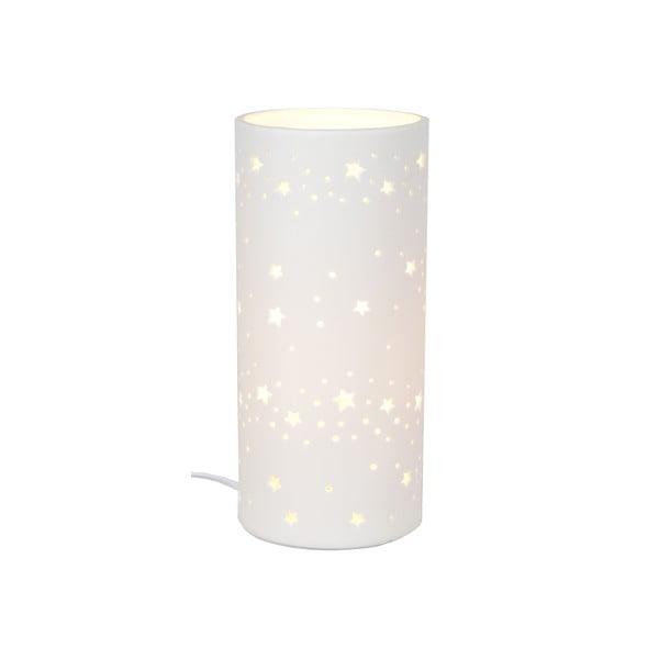 Ceramiczna lampka stołowa Stars, 20 cm