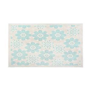 Bawełniany dywan Qualta 60x90 cm, turkusowy