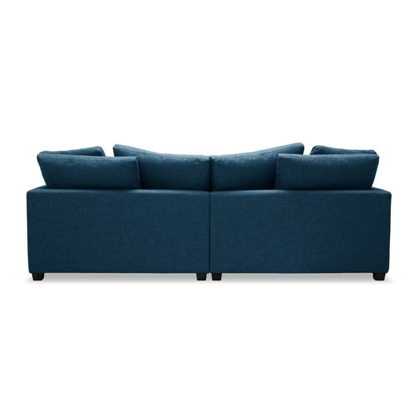 Niebieska sofa 3-osobowa Vivonita Hugo