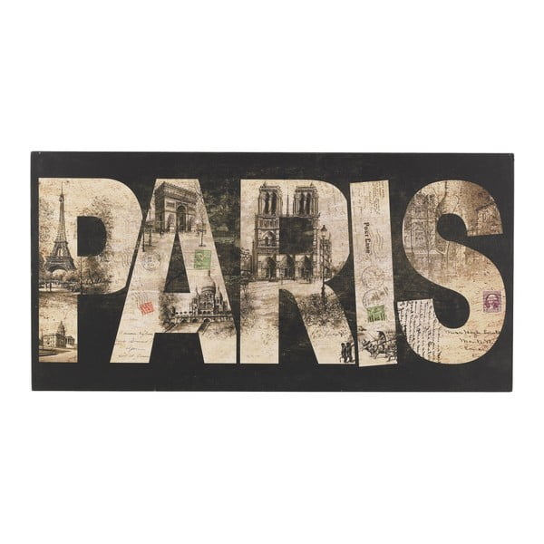 Tablica ścienna Paris