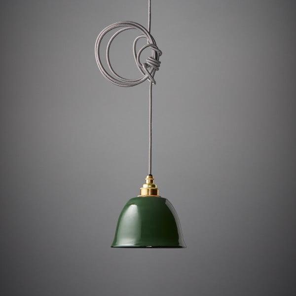 Lampa wisząca Miniature Bell Green