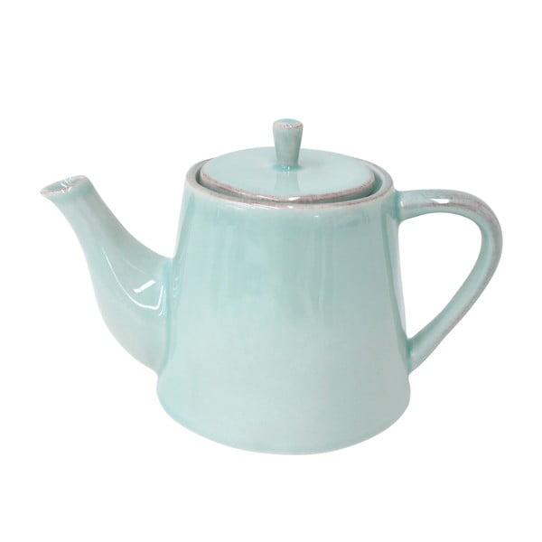 Ceramiczny dzbanek na herbatę Lisa 1000 ml, turkusowy