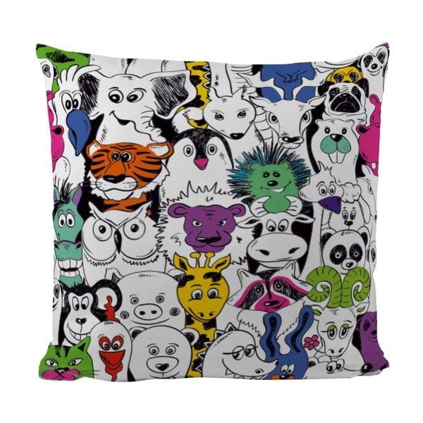 Poduszka Crazy Animals, 50x50 cm
