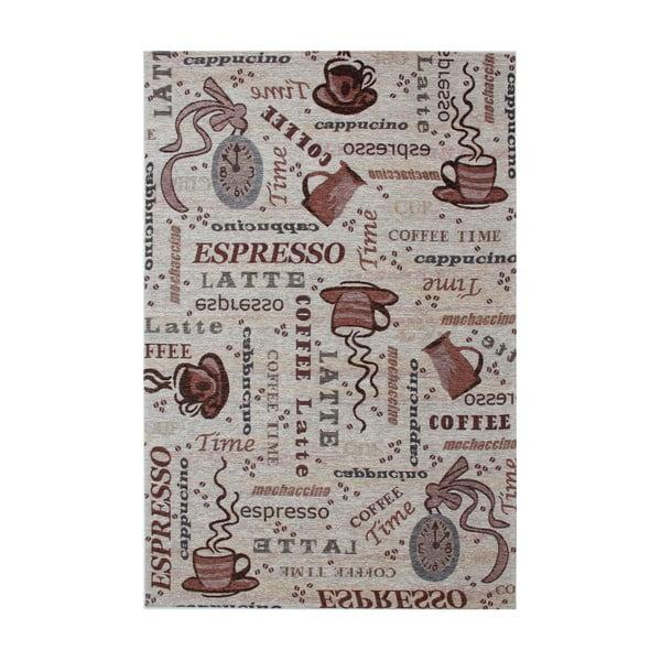 Brązowy dywan Eko Rugs Coffee, 80x150cm