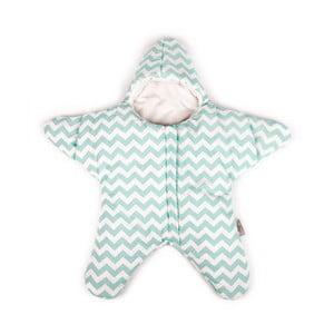Dziecięcy śpiworek Baby Bites Star Mint