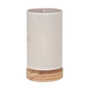 Lampa stołowa z drewnianą podstawą Homemania Lola