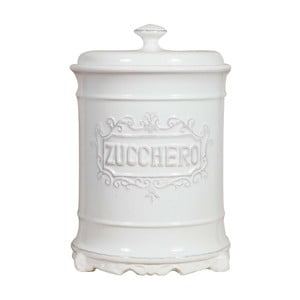 Biała cukierniczka ceramiczna Crido Consulting Biscottini Sugar Cane