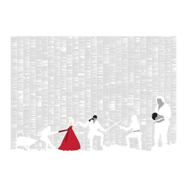 """Plakat """"Narzeczona dla księcia"""", 100x70 cm"""