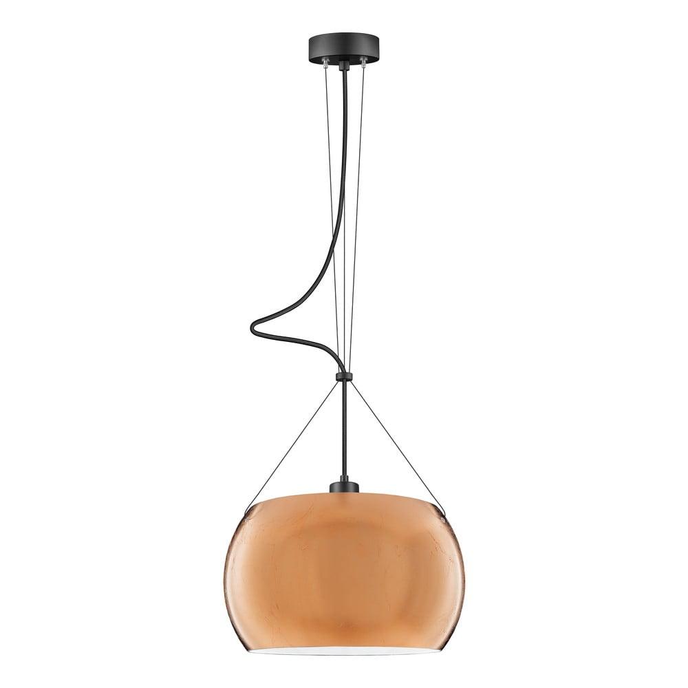 Lampa wisząca w kolorze miedzi Sotto Luce MYOO Elementary