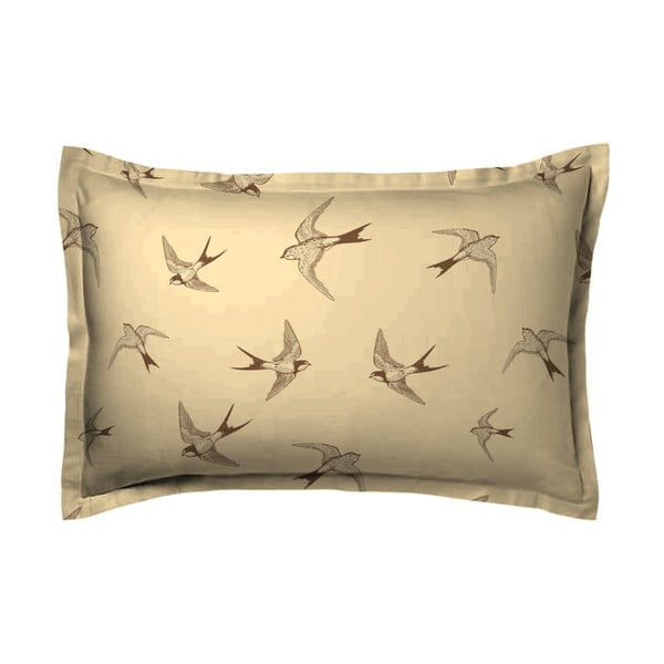 Poszewka na poduszkę Hipster Birds, 70x90 cm