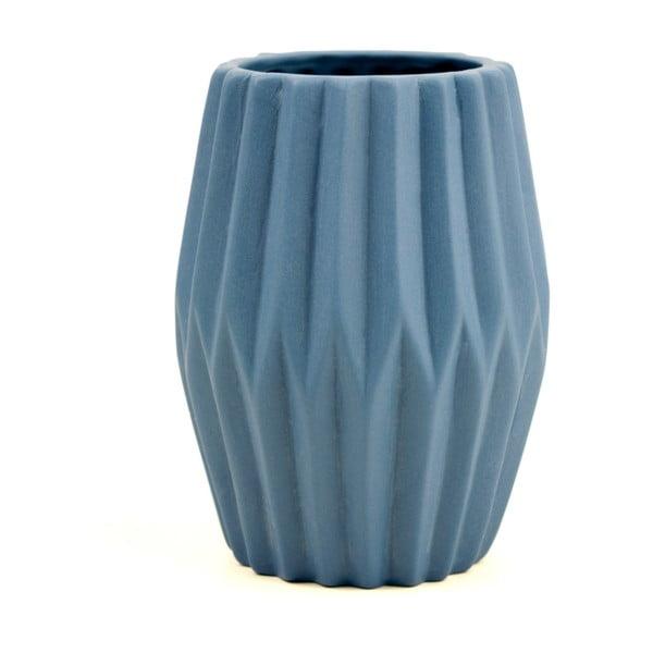 Wazon Riffle 3, niebieski