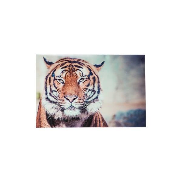 Szklany obraz Tiger, 120x80 cm
