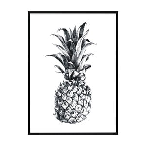 Plakat Nord & Co Pineapple, 21x29 cm