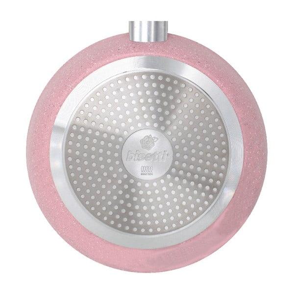 Patelnia Bisetti Stonerose Rose Luca, ø 24 cm