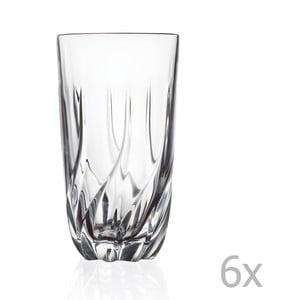 Zestaw 6 szklanek RCR Cristalleria Italiana Perugia
