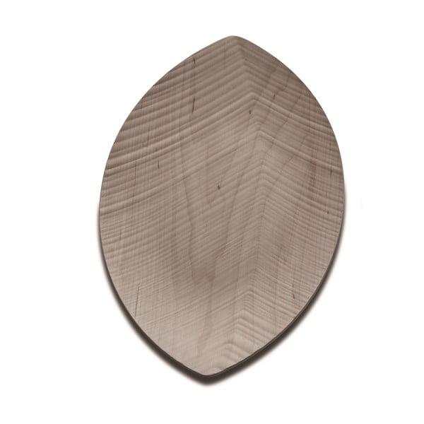 Taca do serwowania Leaf 33 cm, jasna