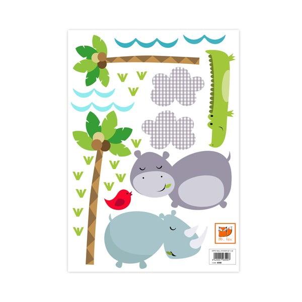 Naklejka ścienna Hippo