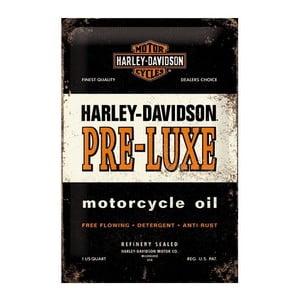 Blaszana tabliczka Harley Pre-Luxe, 20x30 cm