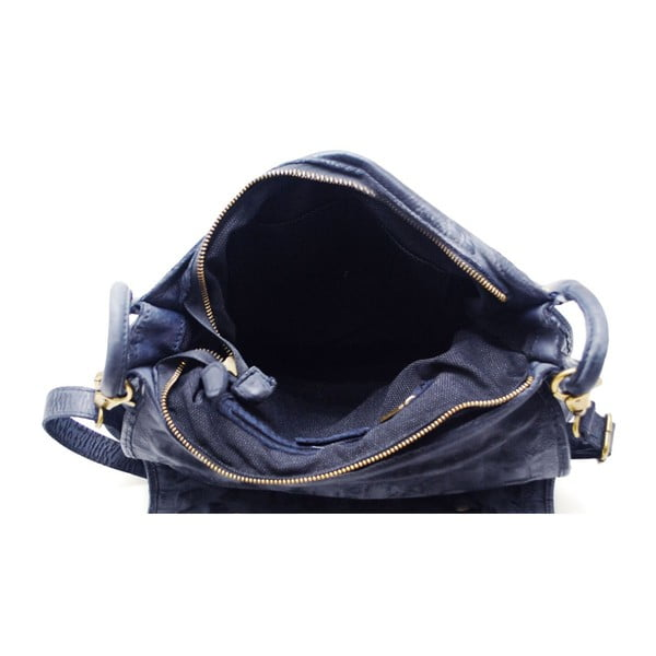 Skórzana torebka Tritila Blu