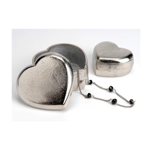 Komplet 2 pojemników Heart Box