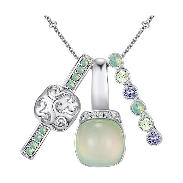 Naszyjnik z kryształami Swarovski Lilly & Chloe Océane