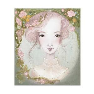 Plakat autorski: Léna Brauner Nimfa, 54x60 cm
