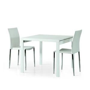 Biały drewniany stół rozkładany Castagnetti Exti