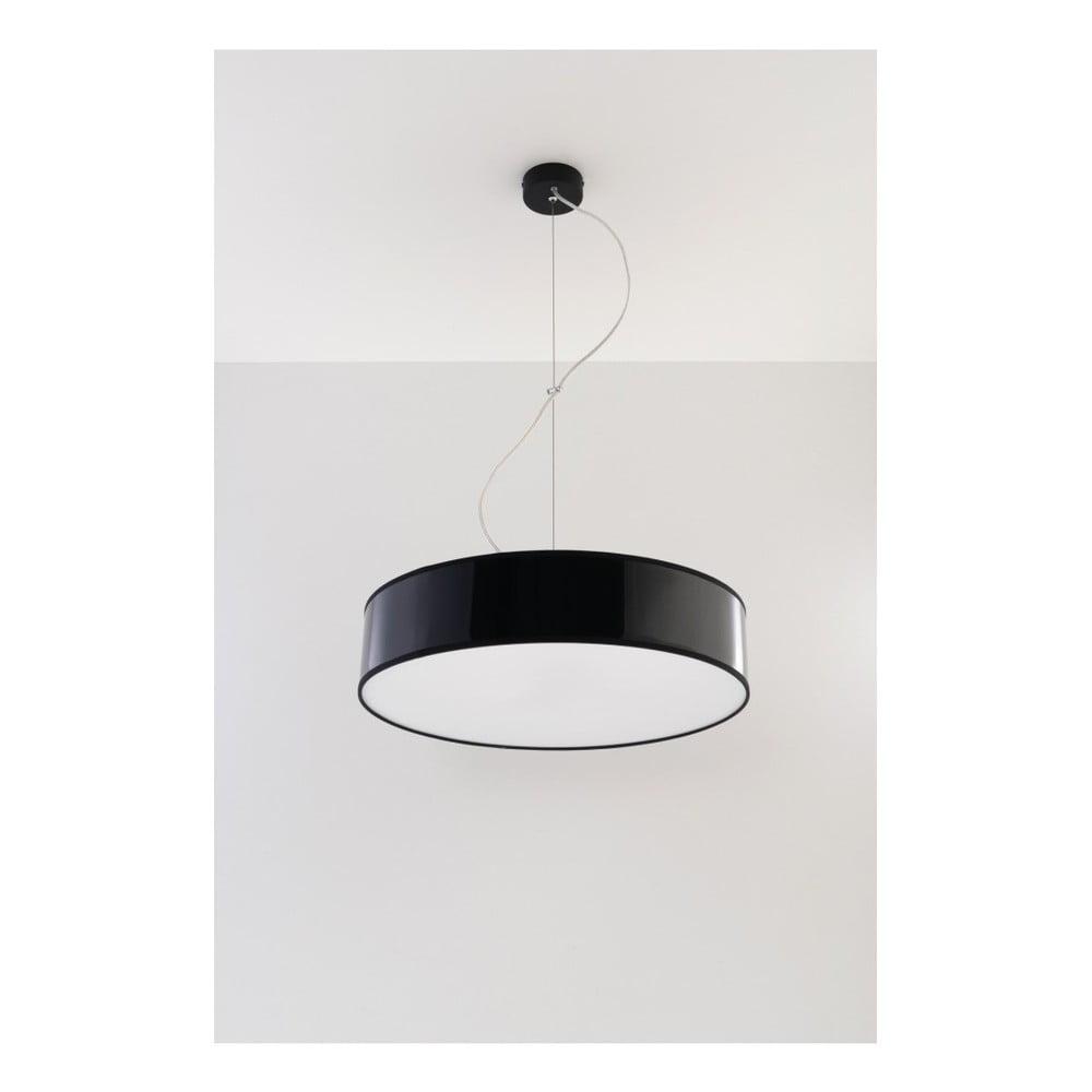 Czarna lampa wisząca Nice Lamps Atis 45