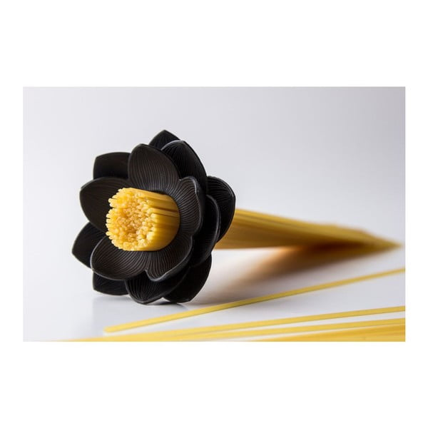 Miarka do makaronu Lotus, czarna