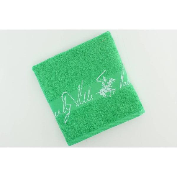 Ręcznik bawełniany BHPC 50x100 cm, szmaragdowy