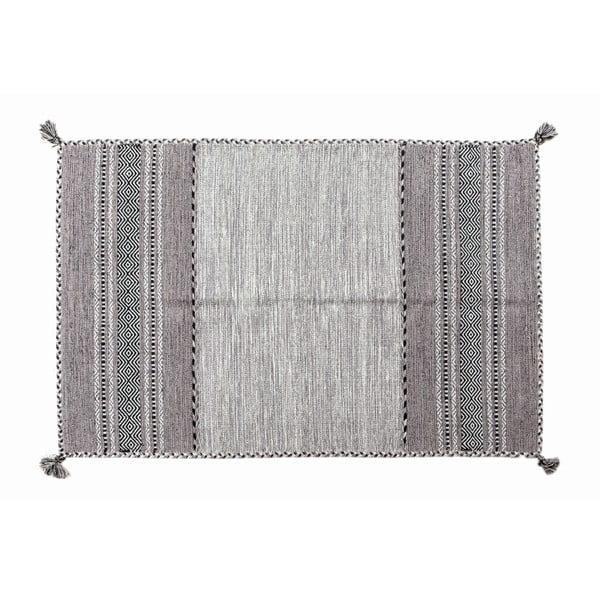 Dywan ręcznie tkany Kilim Tribal 108, 90x60 cm