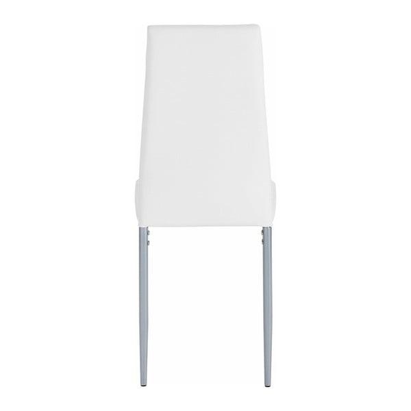 Zestaw 4 białych krzeseł Støraa Barak