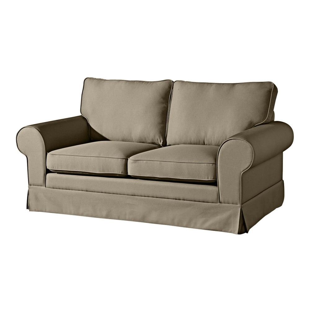 Beżowoszara sofa Max Winzer Hillary, 172 cm