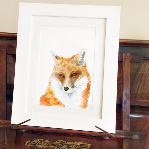 Plakat Fox Junior A4