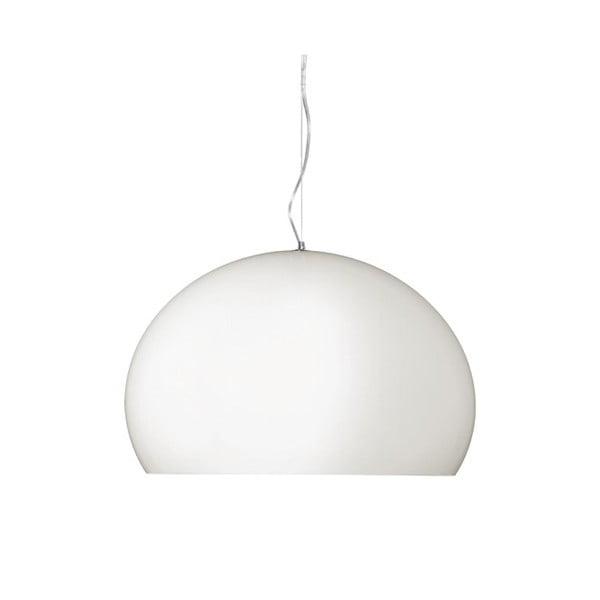 Biała lampa wisząca Kartell Fly
