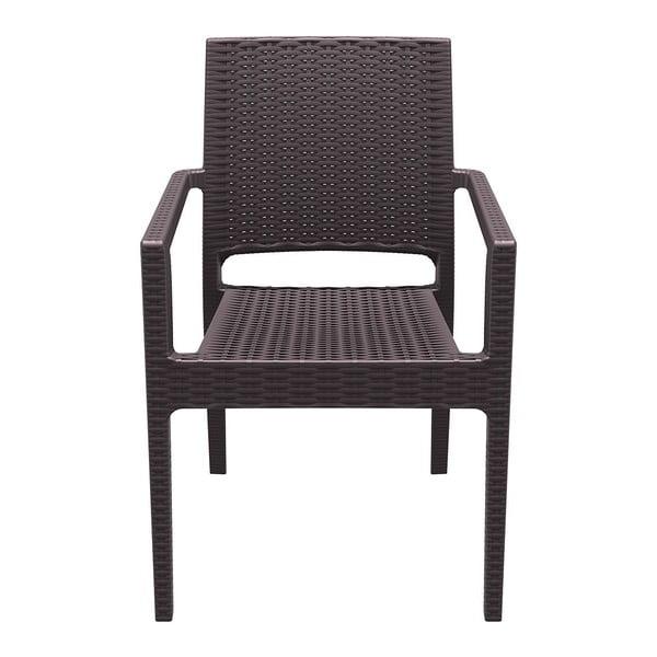 Krzesło Ibiza, brązowe