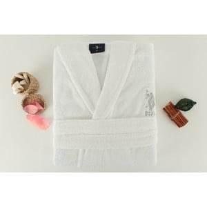 Szlafrok damski U.S. Polo Assn. Minot White, roz. L