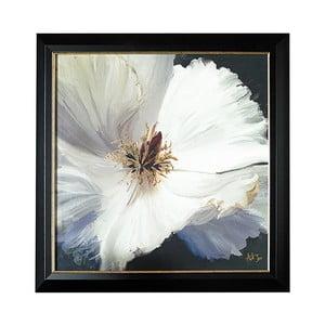 Obraz w metalizowanej ramie Graham & Brown Floral,80x80cm