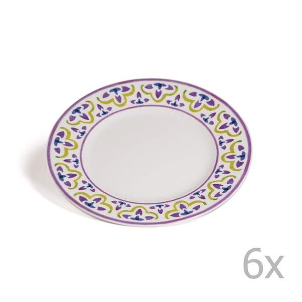 Zestaw 6 talerzyków Toscana Cortona, 21.5 cm
