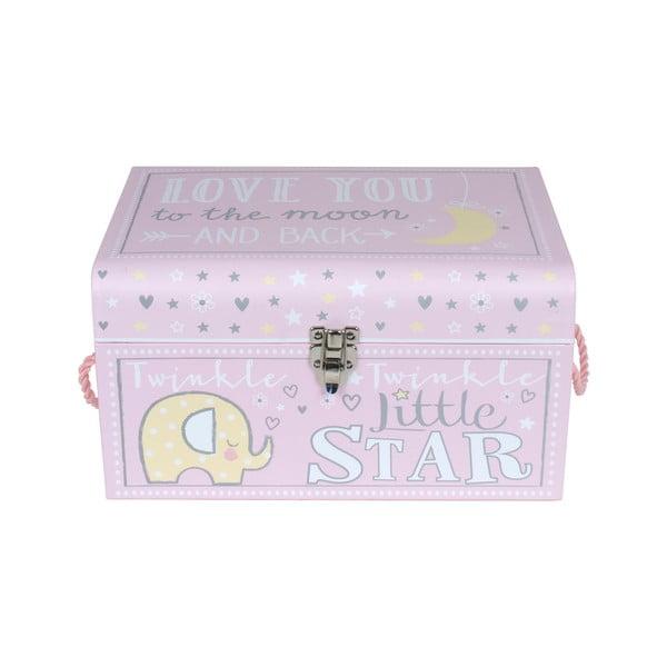 Zestaw 3 organizerów na zabawki/pudełek Little Star