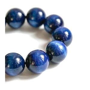 Niebieska bransoletka drewniana Ko–ra–le Bubbles