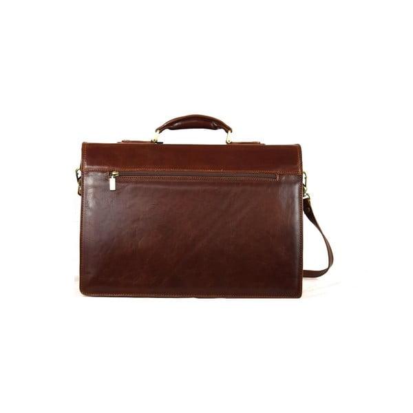 Skórzana torba Santo Croce VL8241 Brown