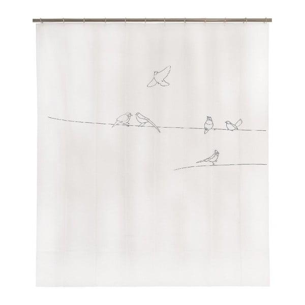 Zasłona prysznicowa Birds, 200x180 cm