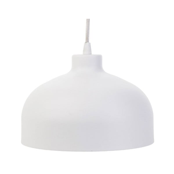 Biała lampa wisząca Loft You B&B, 44 cm
