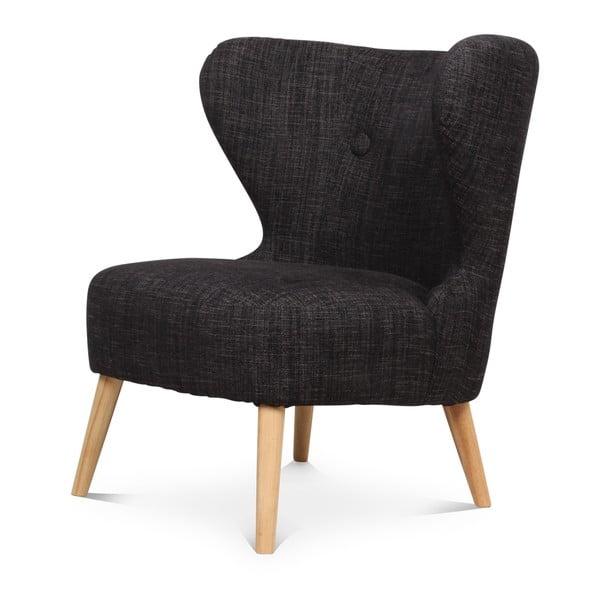 Fotel Jazz Vintage Antracit