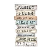 Tablica naścienna Family Rules