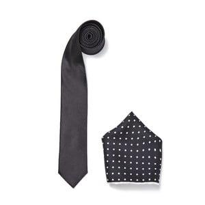 Zestaw krawata i poszetki Ferruccio Laconi 19