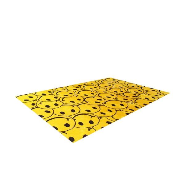 Dywan Bakero Smile Yellow, 122x183 cm